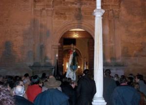 Entrada de las Hermandades en la Iglesia para la Misa en Honor a la Inmaculada